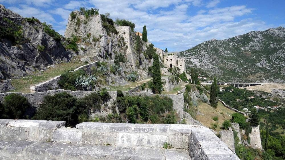 Game of Thrones Locations - Klis Fortress, Croatia