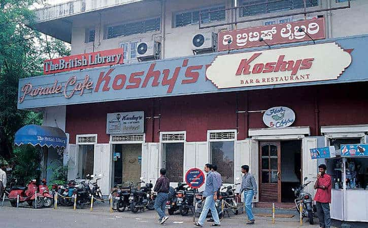 Koshy's Bar and Restaurant in Bangalore