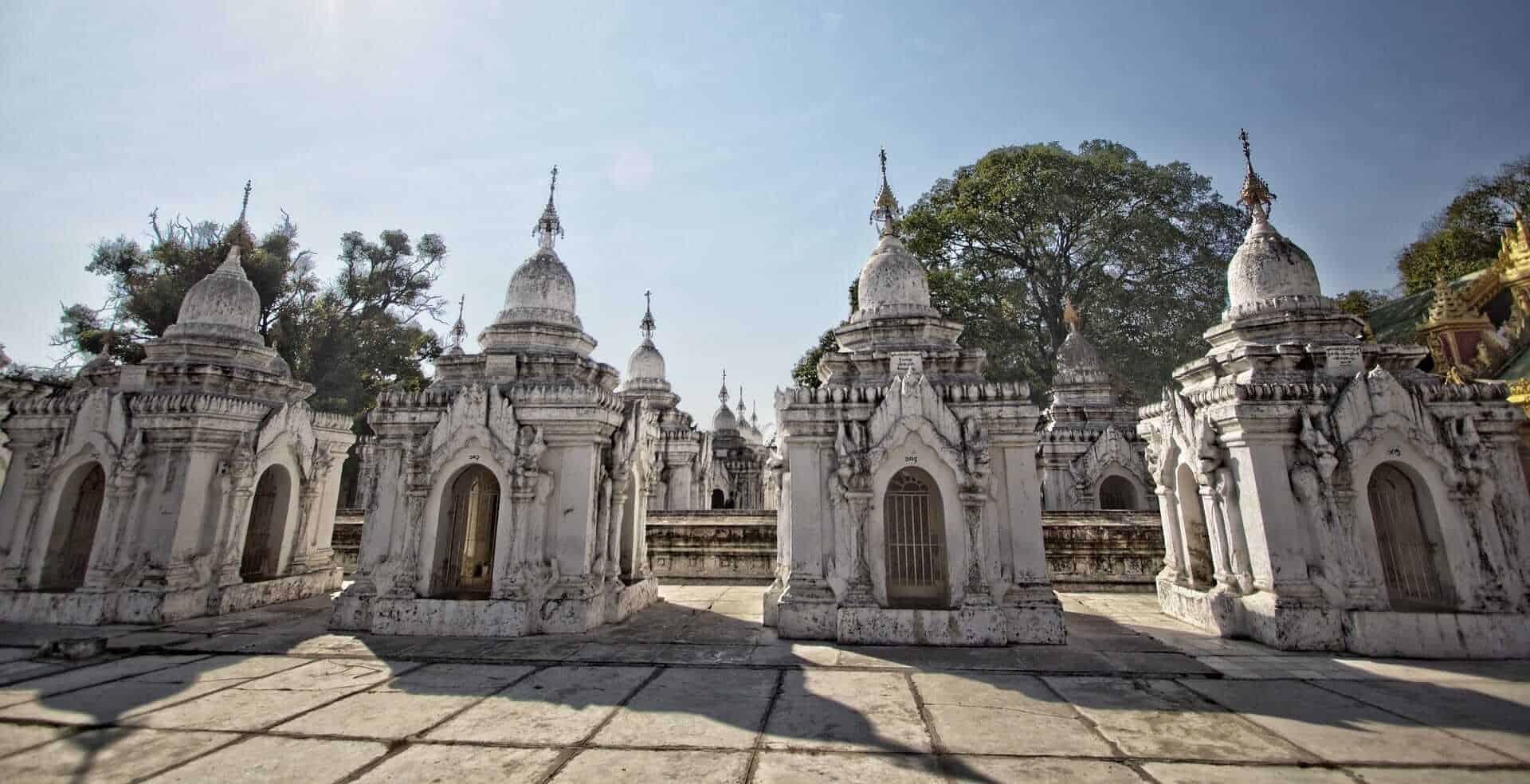Kuthodaw Pagoda, Mandalay, Myanmar (Burma)
