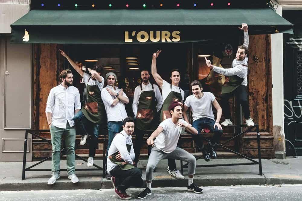 L'Ours, Paris