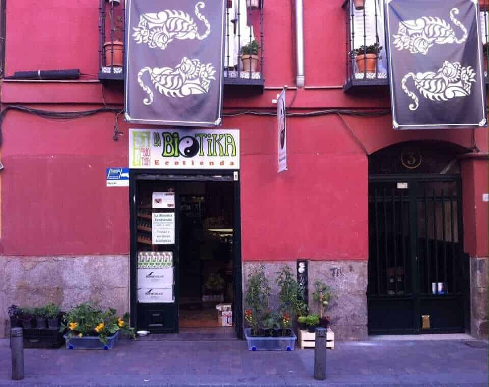 Vegetarian restaurants in Madrid - La Biotika, Madrid