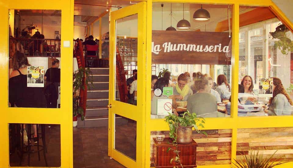 Vegetarian restaurants in Madrid - La Hummuseria, Madrid