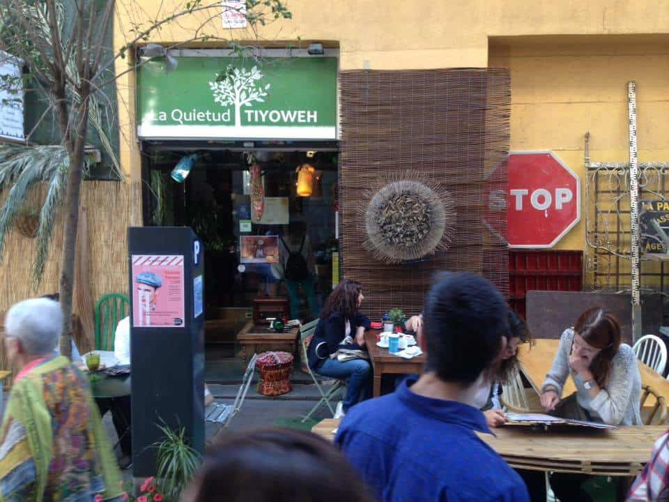 Vegetarian restaurants in Madrid - La Quietud Tiyoweh, Madrid