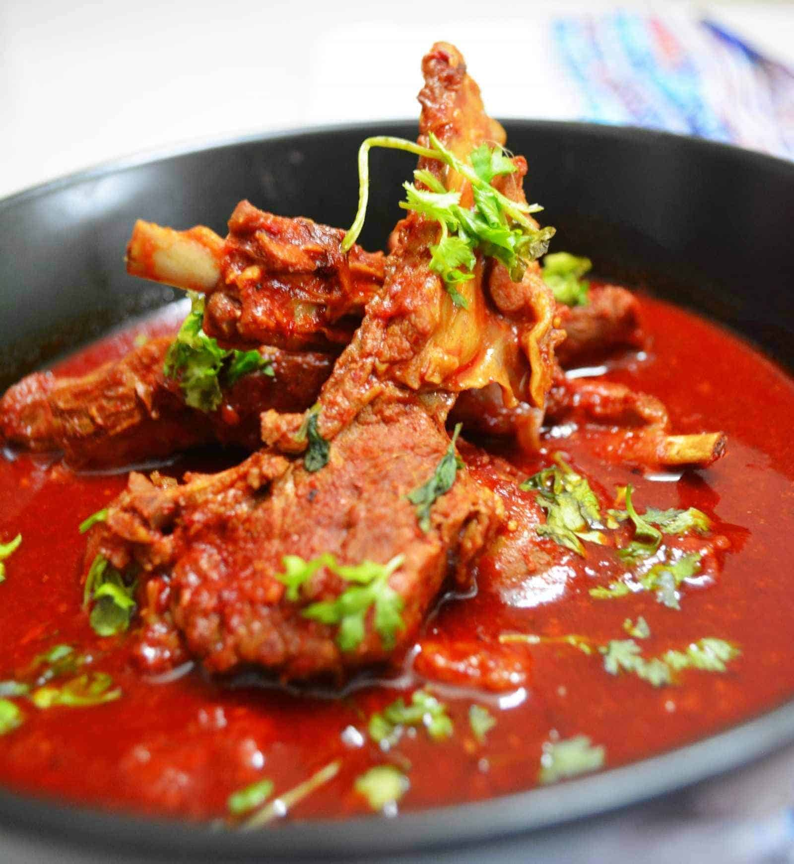 Laal Maas - cuisines of India