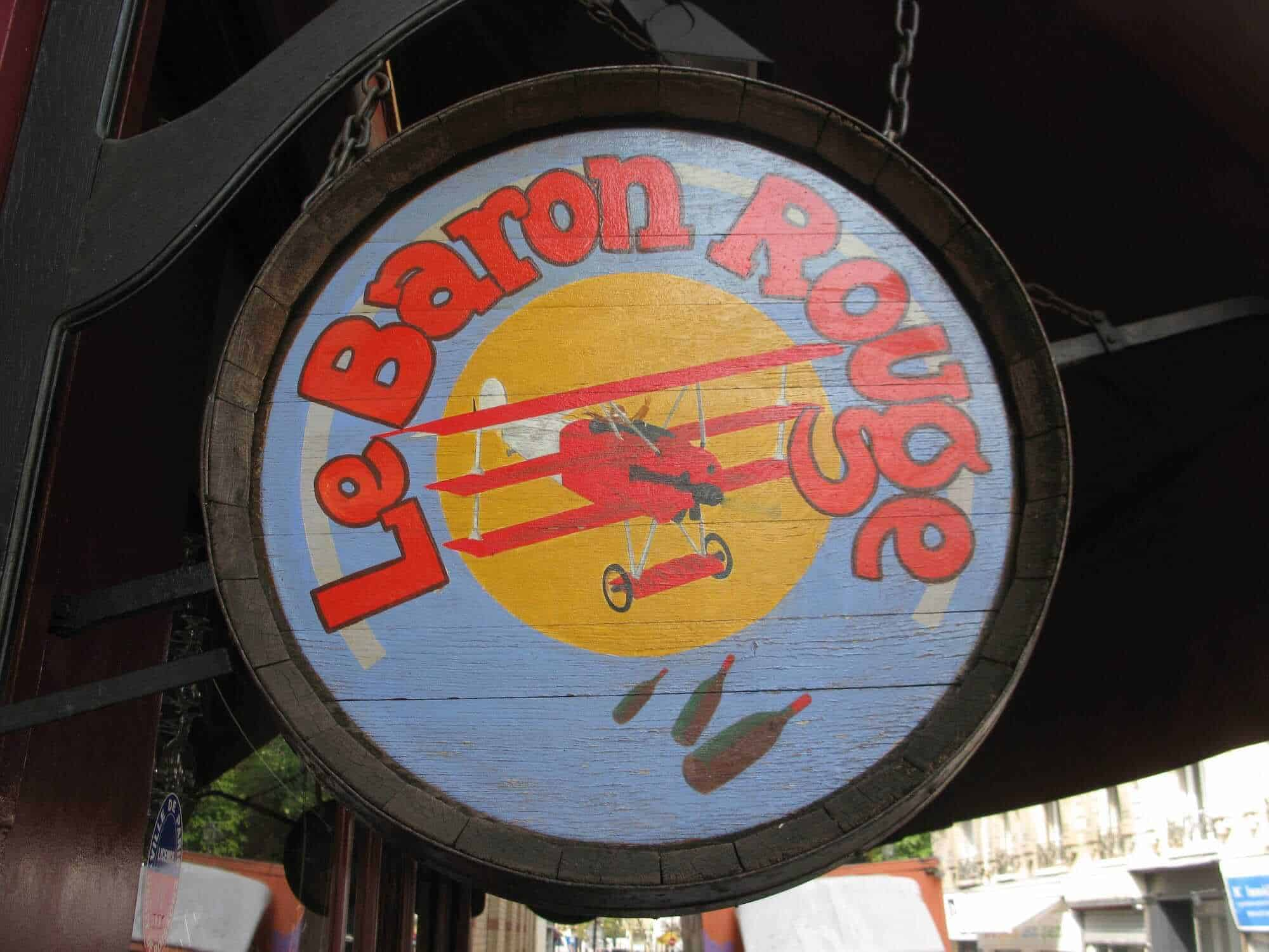 Le Baron Rouge, Paris