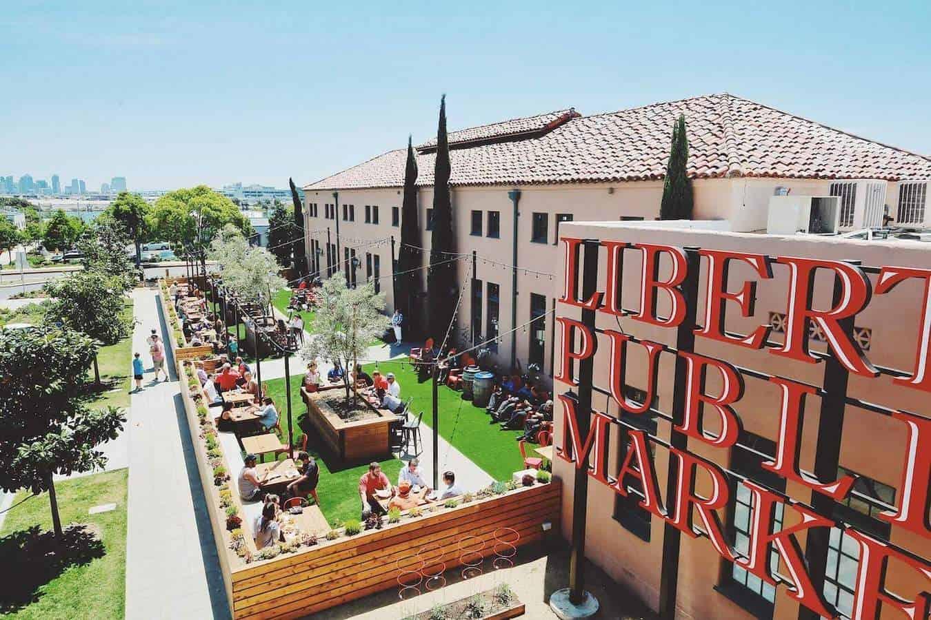 Liberty Public Market, San Diego, USA