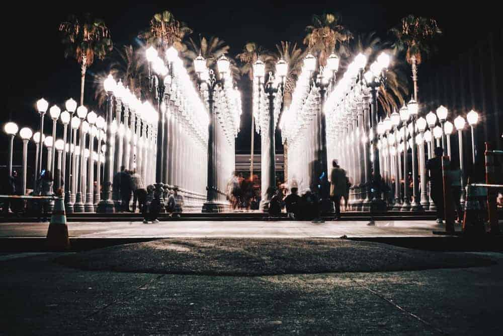 Lights at LACMA - Los Angeles Travel Guide