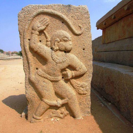 Lord Hanuman, Hampi