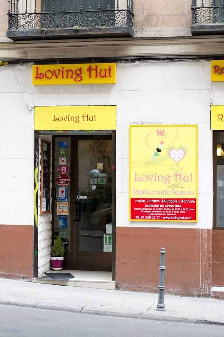 Vegetarian restaurants in Madrid - Loving Hut, Madrid
