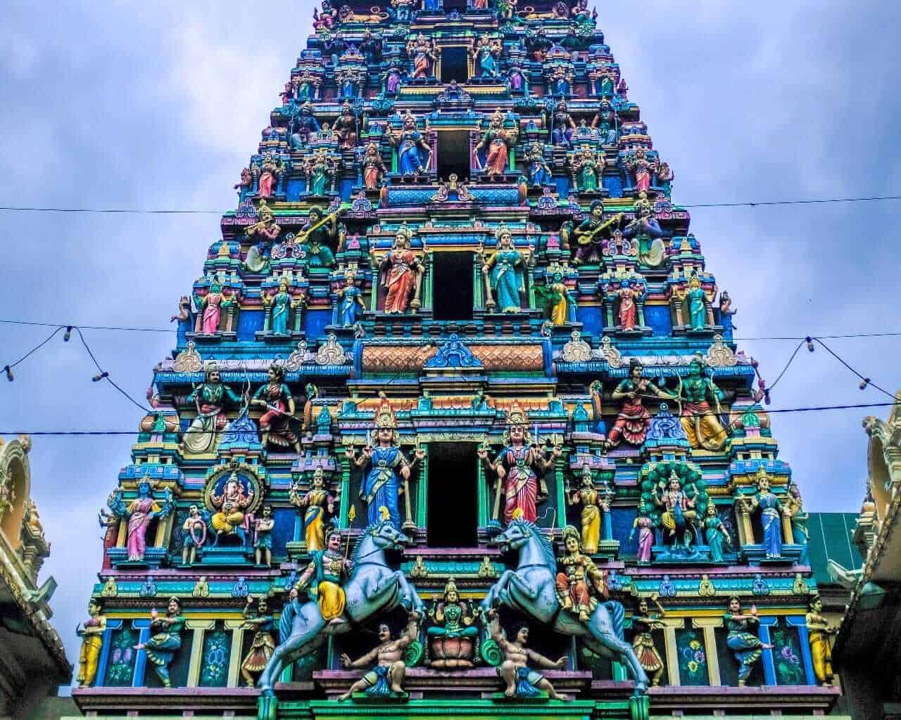 Mahamariamman Temple, Kuala Lumpur, Malaysia