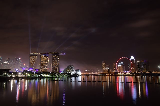 Marina Bay Waterfront in Singapore