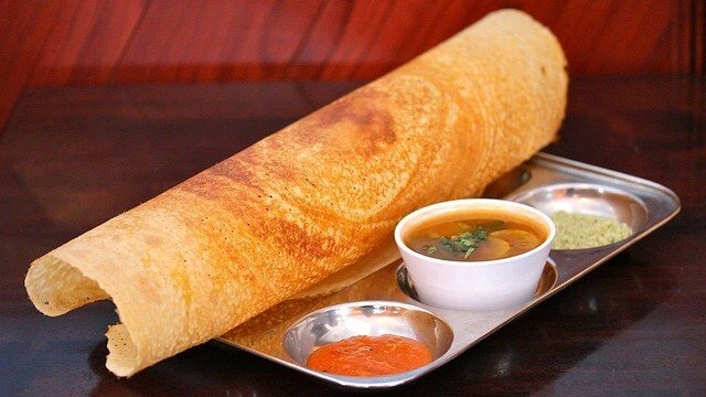 Masala Dosa - cuisines in India