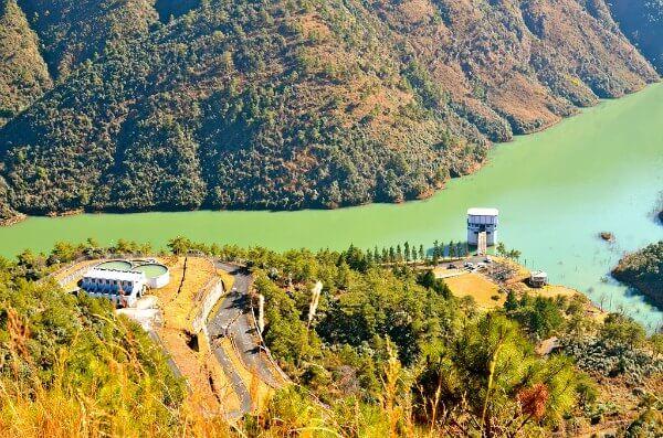 Mawphlang Dam Reservoir Meghalaya-India