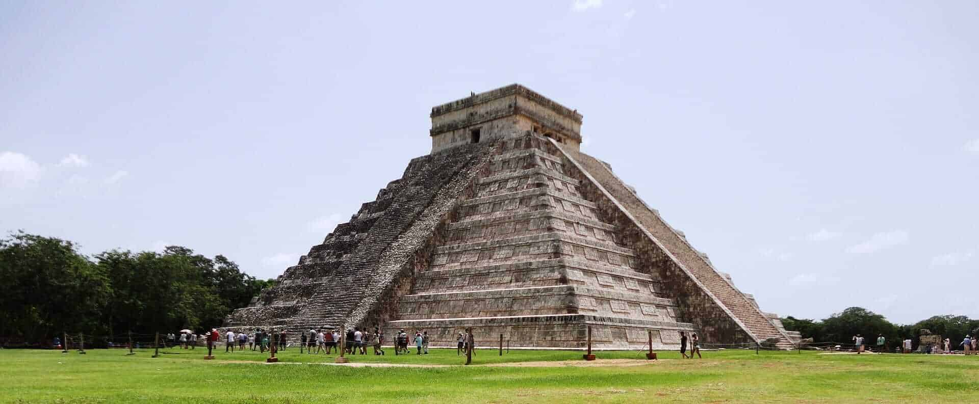 Mayan-pyramids-Cancun best places to travel in January