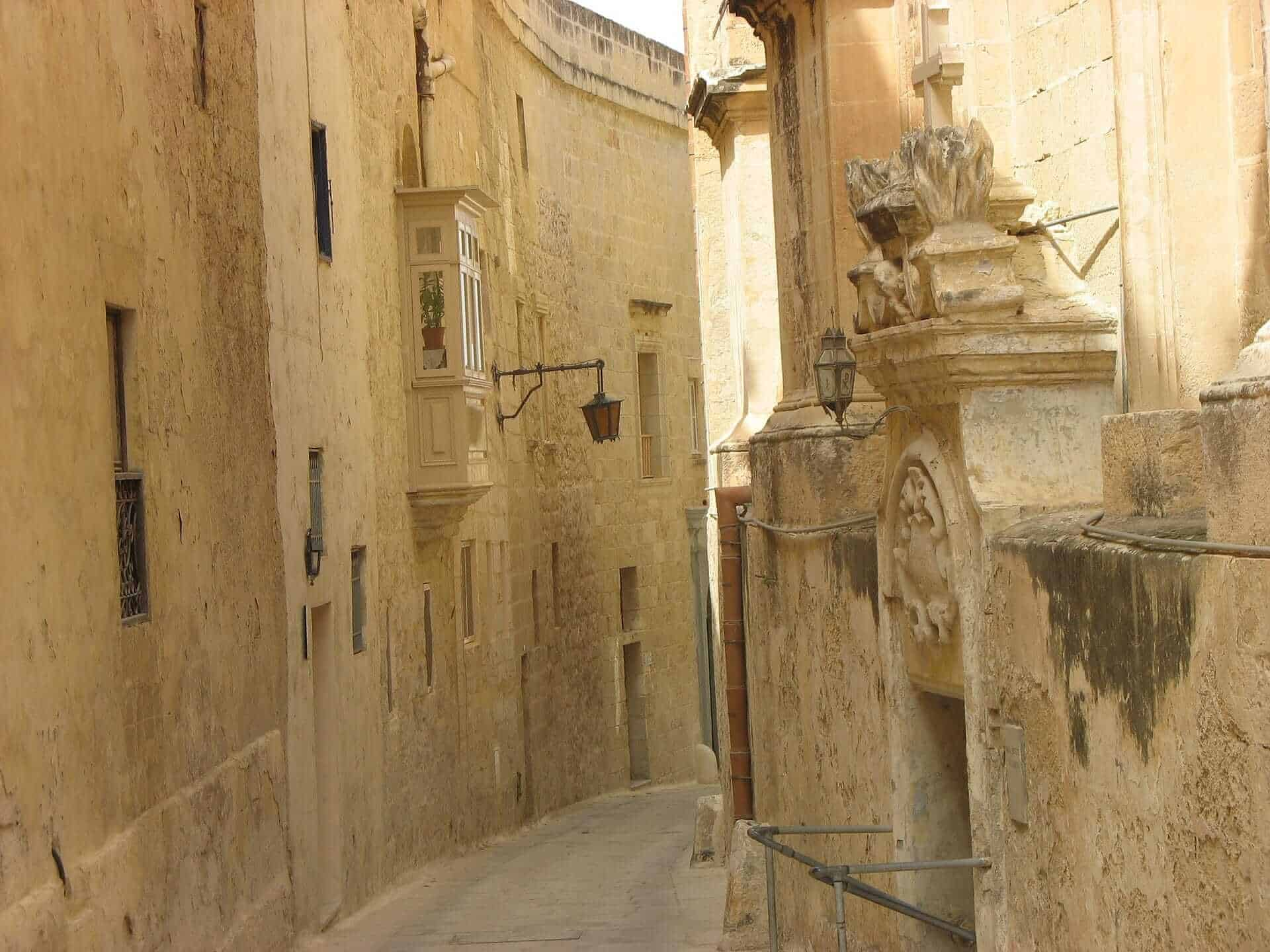 Game of Thrones Locations - Mdina streets, Malta