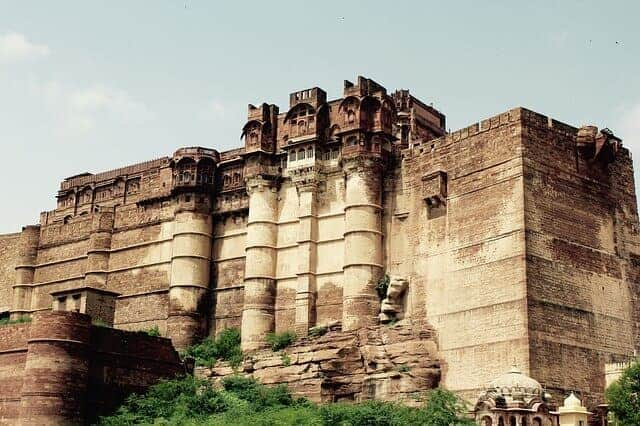 Mehrangarh Fort in Rajasthan, India