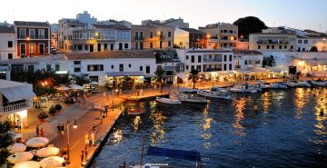 Menorca - Mahon in the night
