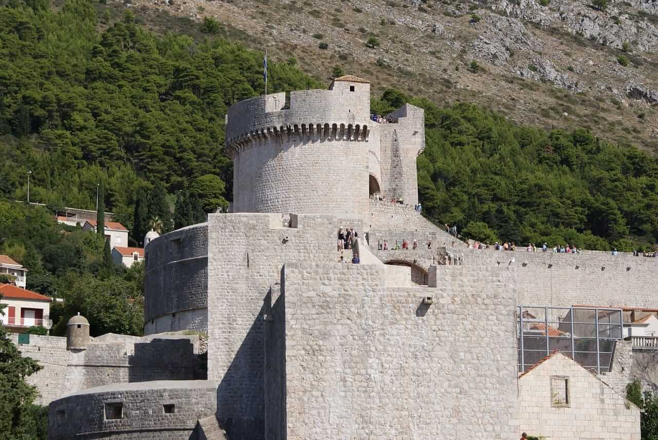 Game of Thrones Locations - Minčeta Tower, Dubrovnik