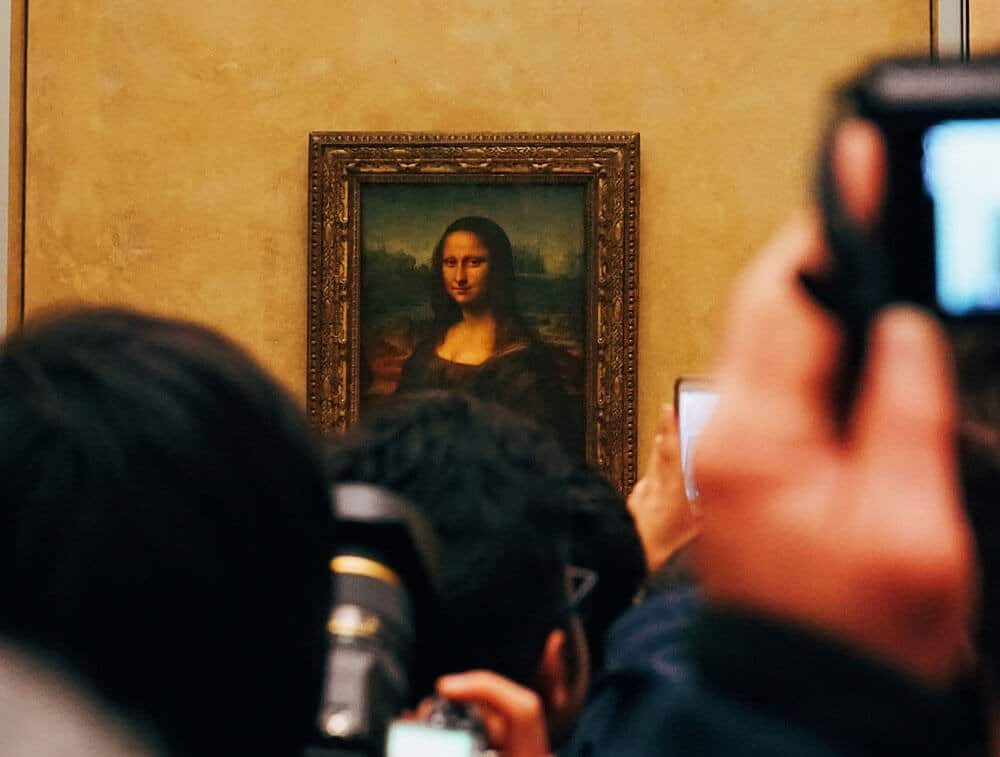 You can visit the Louvre for free but it will be crowded.