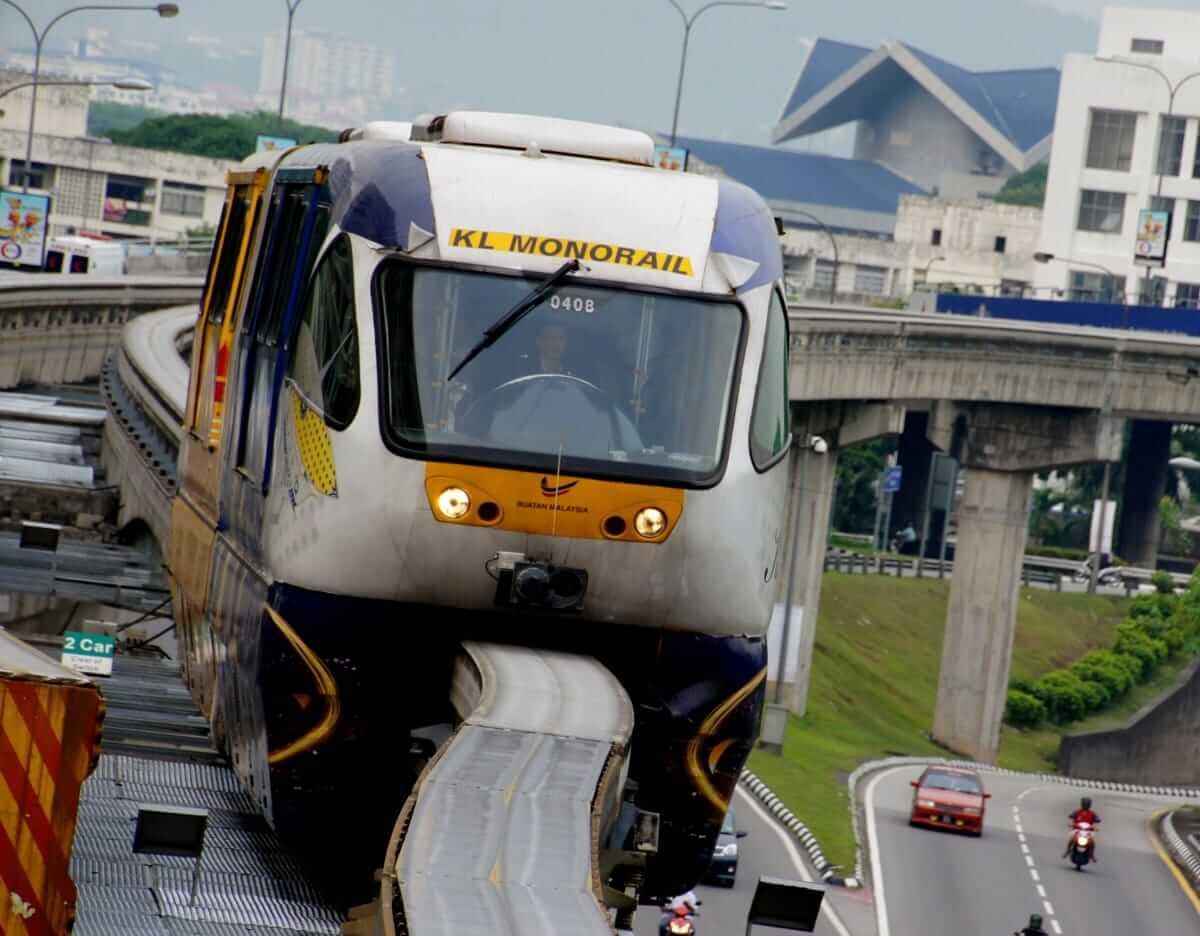 Mono Rail in Kuala Lumpur, Malaysia