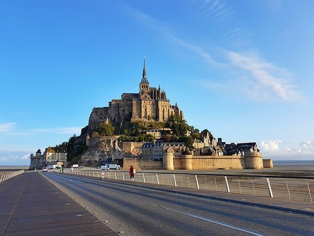 Mont Saint Michel near Paris