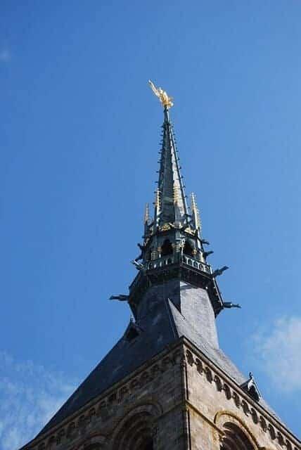 Mont Saint Michel-spire