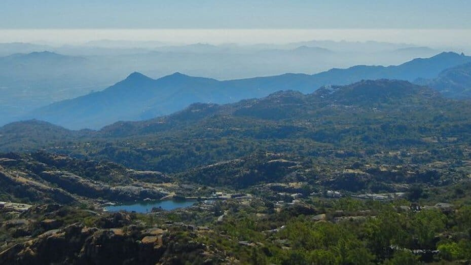 Mount Abu is a famous hill station near Udaipur.