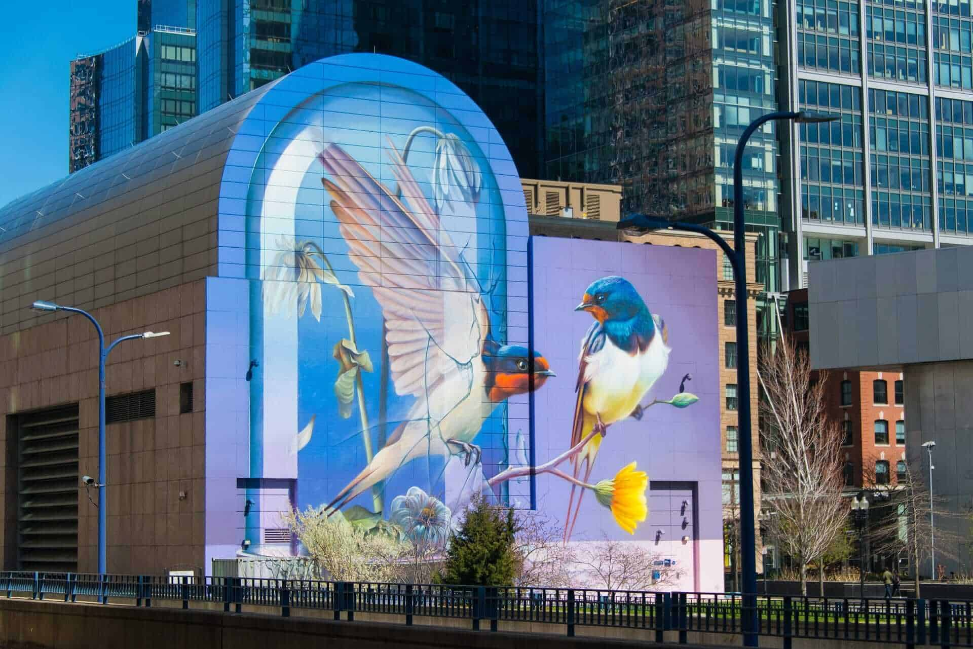 Murals in Boston, USA