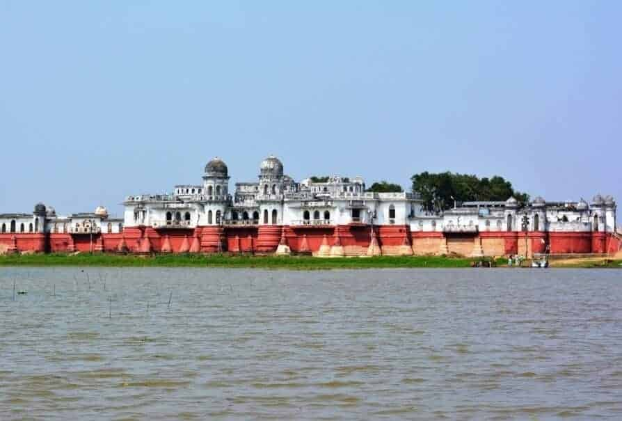 Neermahal in the state of Tripura in Northeast India