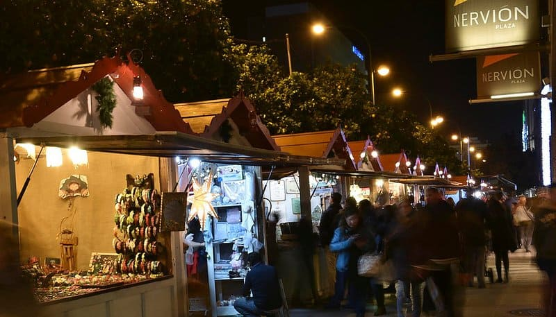 Nervion-Seville-Christmas-market-spain best Christmas markets in Europe