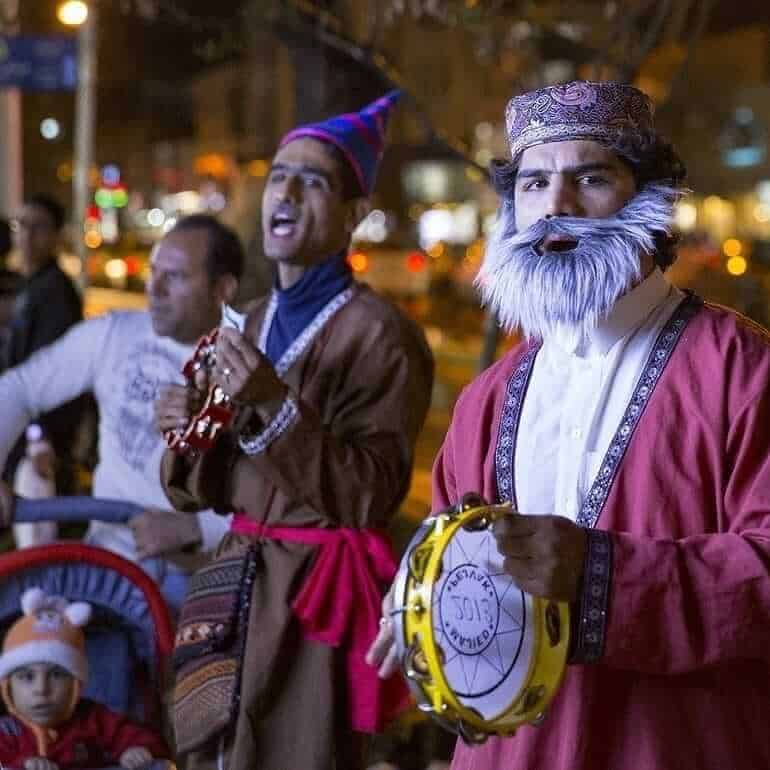 Amu Nowruz (mythological character, Iranian counterpart of Santa Claus)