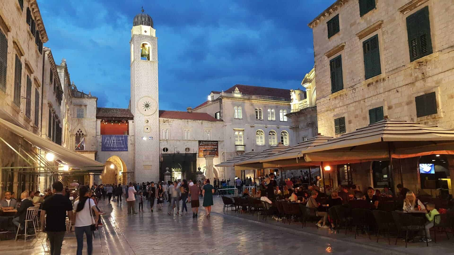 Game of Thrones Locations - Old Square, Dubrovnik