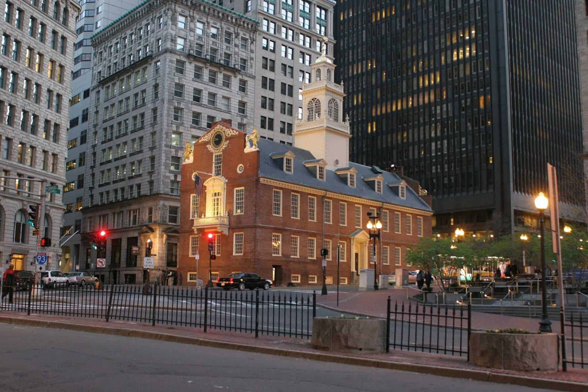 Old State House on the Freedom Trail, Boston , USA