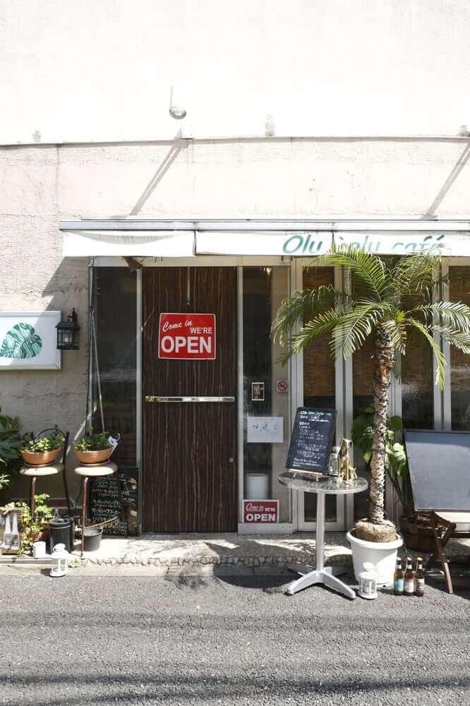 Olu'olu Café, Tokyo - Vegetarian restaurants in Tokyo