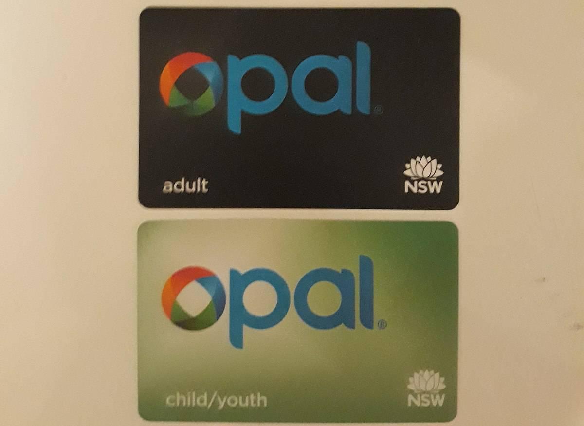 Opal Card, Sydney, Australia