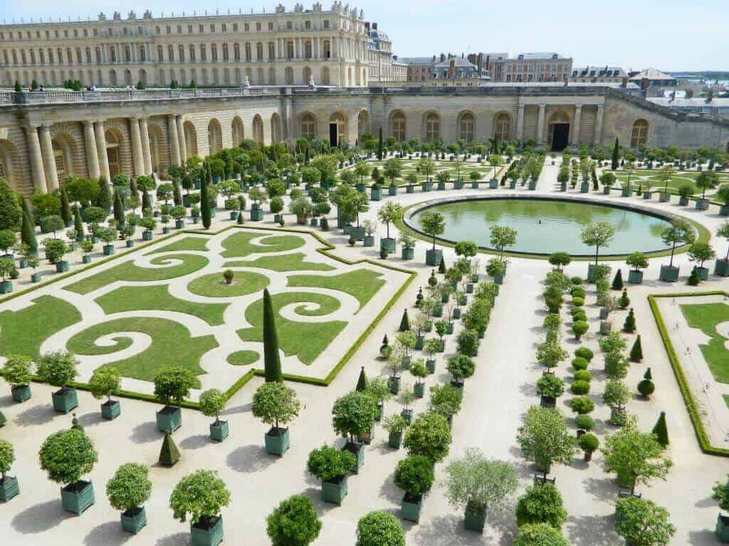Orange Garden - Chateau de Versailles
