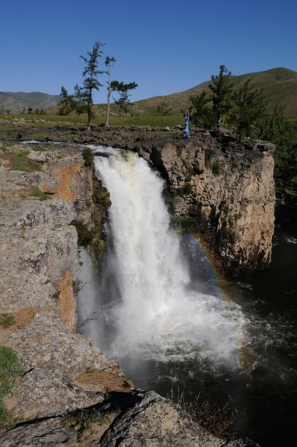 Orkhon Waterfall, Uvurkhangai, Mongolia