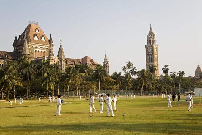 Oval Maidan for cricket in Mumbai