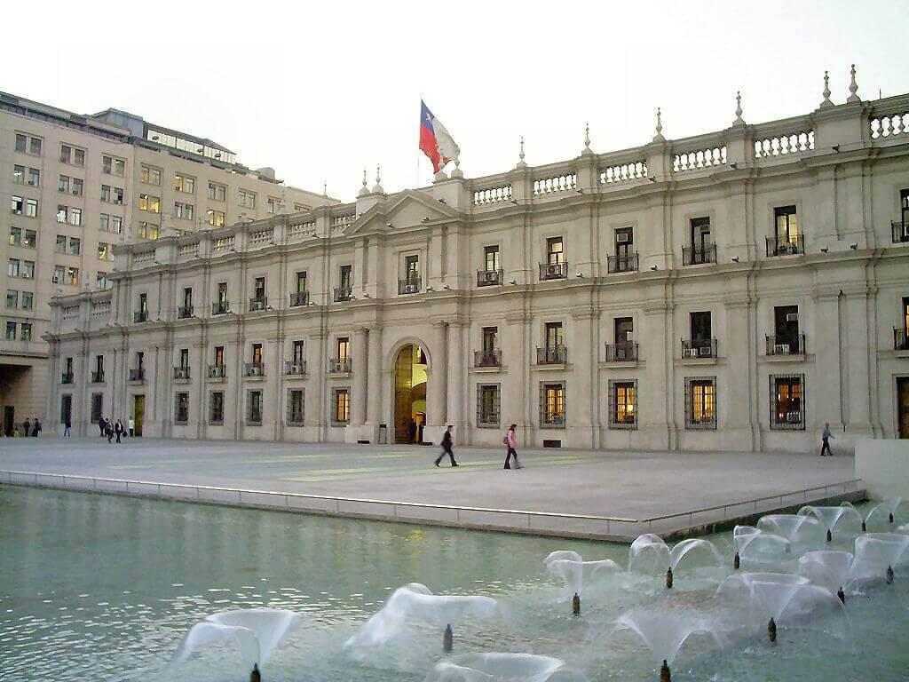 Palacio-de-La-Moneda - Santiago