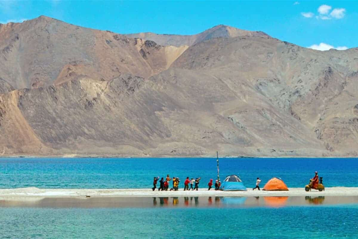 Pangong Lake from 3 Idiots