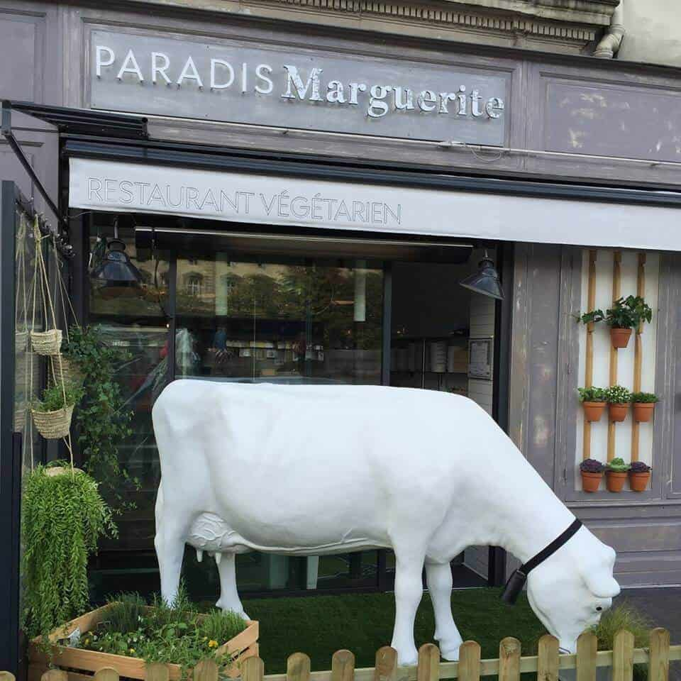 Vegetarian restaurants in Paris - Paradis Marguerite, Paris