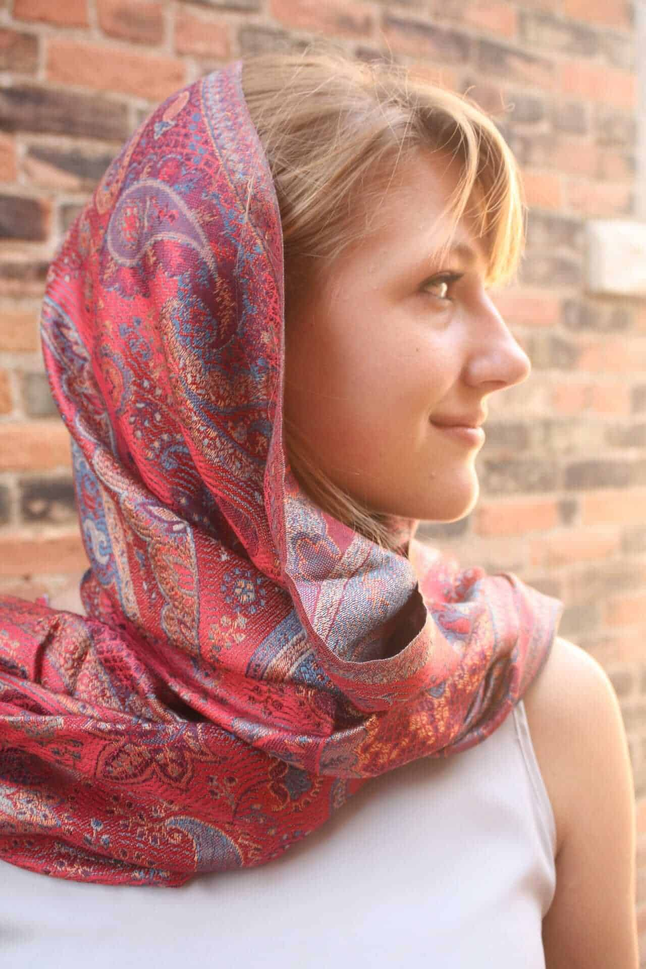 Pashmina scarf from Kashmir