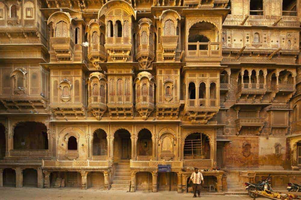 Patwon ki Haveli in Jaisalmer, Rajasthan