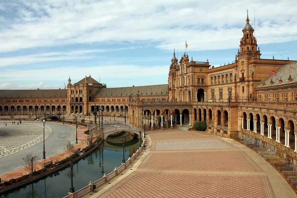 Game of Thrones Locations - Plaza de Espana in Sevilla
