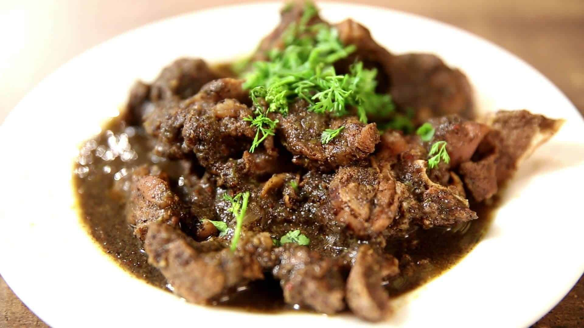 Pork curry from Coorg - Cuisines of India