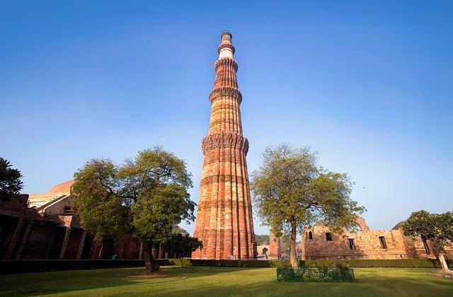Qutub Minar in New Delhi