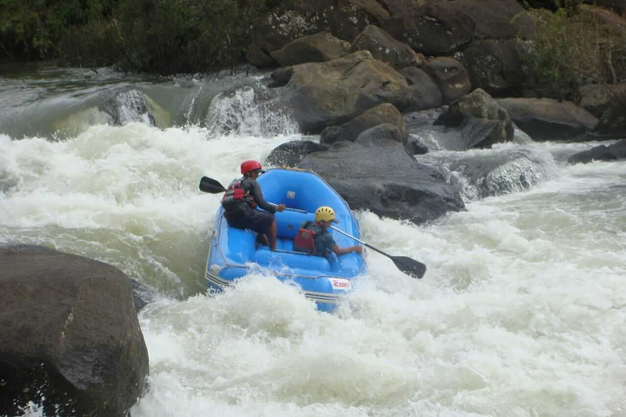 Rafting at Barapole River, Coorg