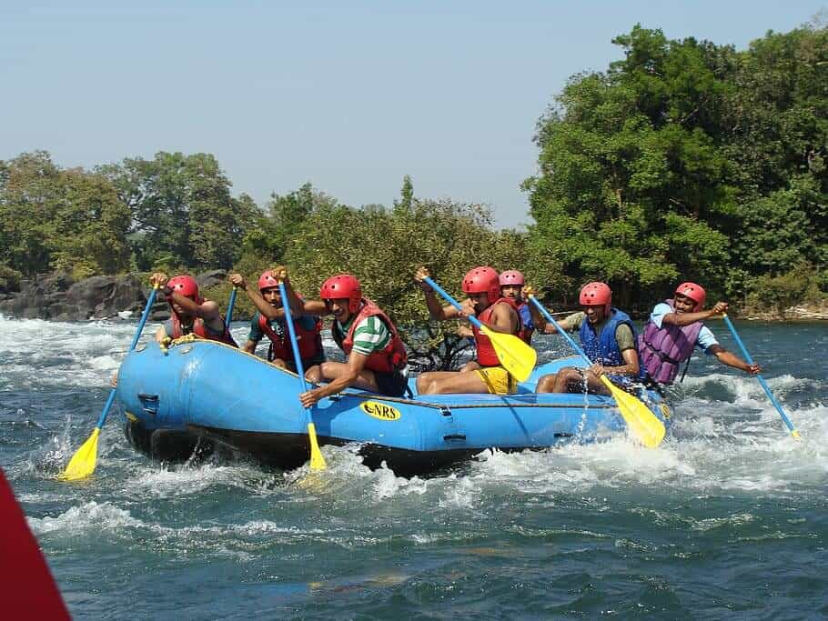Rafting at Kundalika river, Kollad, India
