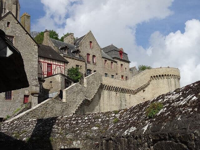 Ramparts at Mont Saint Michel