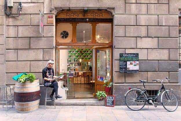 Vegetarian restaurants in Barcelona - Rasoterra, Barcelona